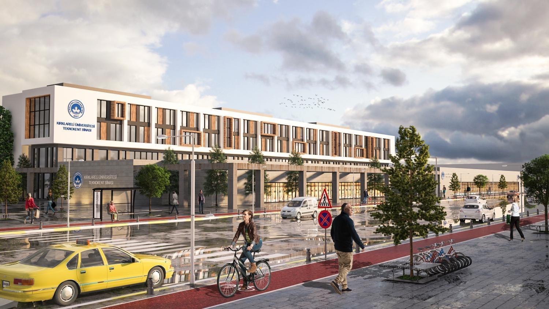 Kırklareli Üniversitesi Teknokent Binası